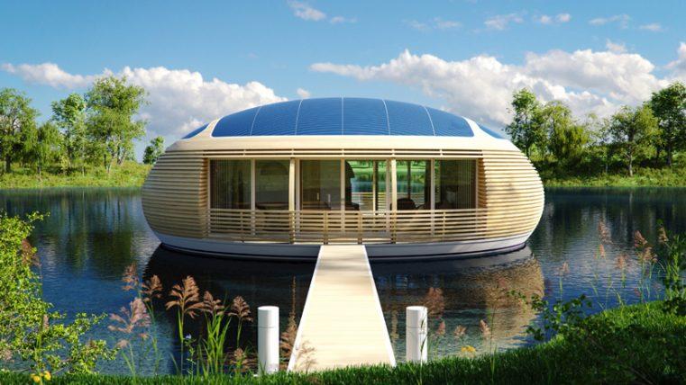 Плавающее гнездо от Giancarlo Zema