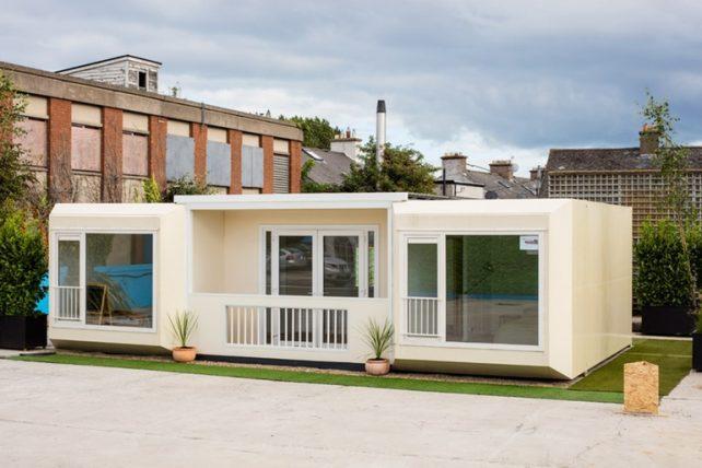 Модульное жильё для бездомных